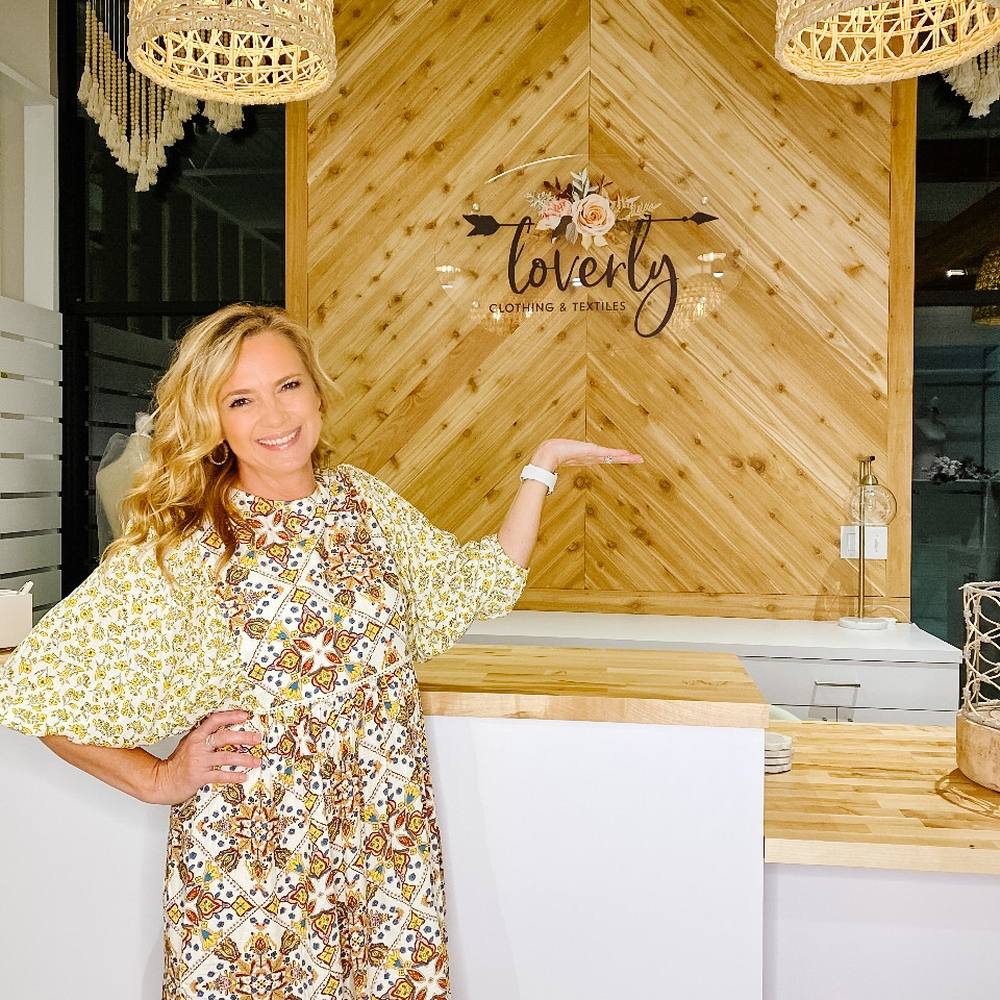Tammy Carlson, owner of Loverly Boutique